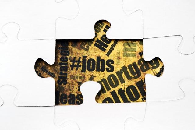 Jobs puzzle concept